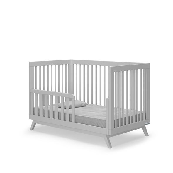 Dadada Soho Collection Toddler Bed Rail in Dark gray