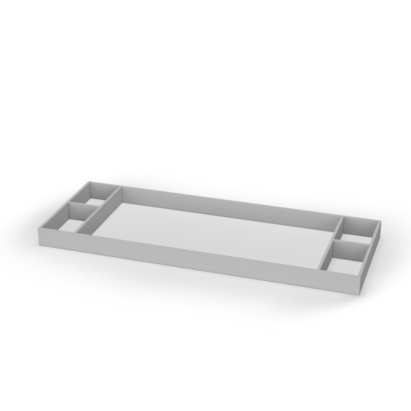 Dadada Soho Collection Changing Tray in Gray