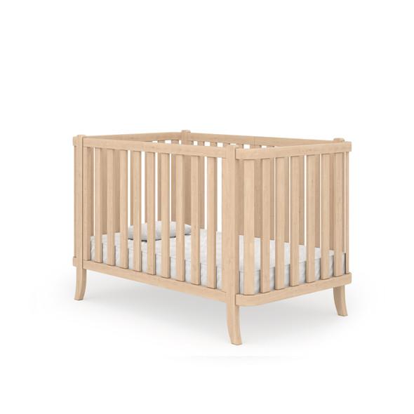 Dadada Manhattan Collection Baby Crib in Natural