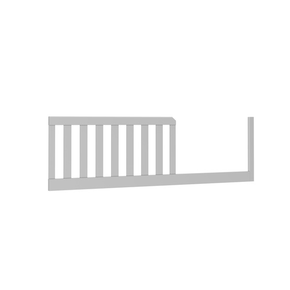 Dadada Boston Collection Toddler Bed Rail in Light Gray