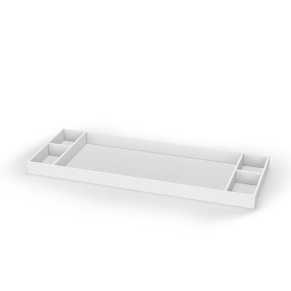 Dadada Boston Collection Changing Tray in White with Protective Gloss