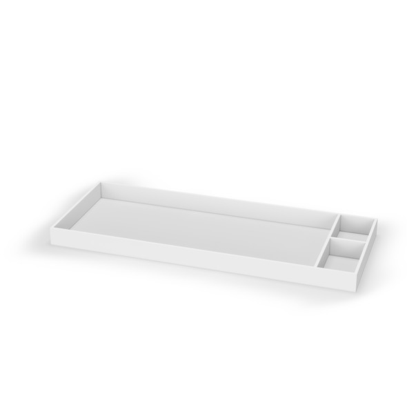 Dadada Brooklyn Collection Changing Tray in White with Protective Gloss