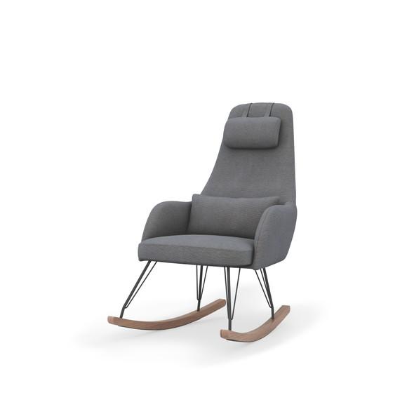 Dadada Weeble Rocking Chair in Fog