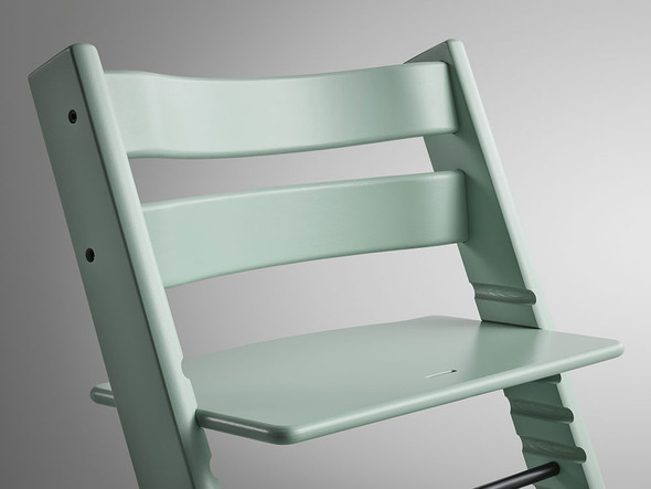 Stokke Tripp Trapp Classic Collection Chair in Soft Mint