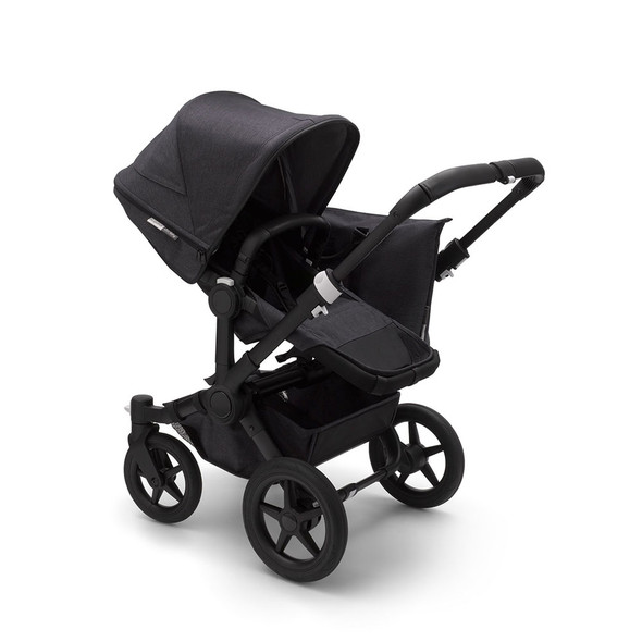 Bugaboo Donkey3 Mineral Mono Complete in Black/Washed Black