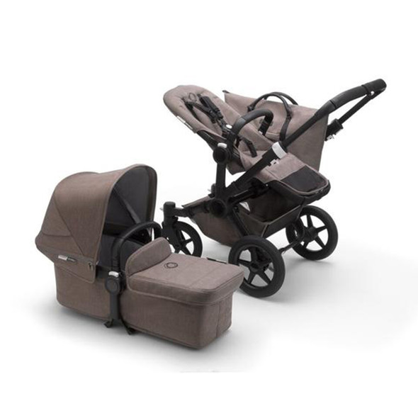 Bugaboo Donkey3 Mineral Mono Complete in Black/Taupe