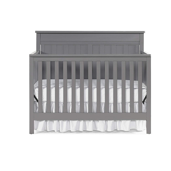 Fisher Price Clayton Convertible Crib in Stormy Grey