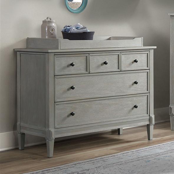 Westwood Vivian Collection 5 Drawer Dresser in Dawn