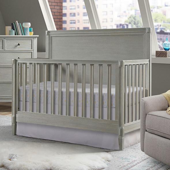 Westwood Vivian 2 Piece Nursery Set - Convertible Crib and 5 Drawer Dresser in Dawn