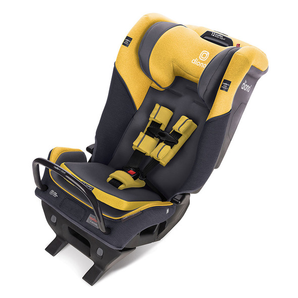 Diono Radian 3QX Latch All in One Convertibles Car Seats in Yellow Mineral