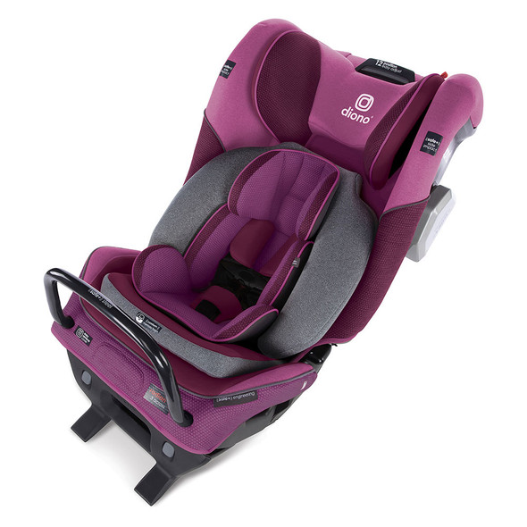 Diono Radian 3QXT Latch All in One Convertibles Car Seats in Purple Plum