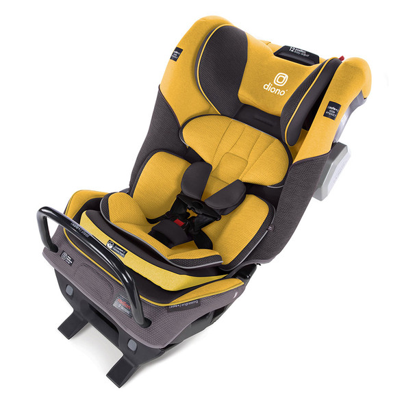 Diono Radian 3QXT Latch All in One Convertibles Car Seats in Yellow Mineral