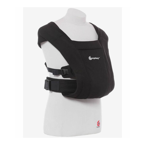Ergobaby Embrace Newborn Carrier in Pure Black