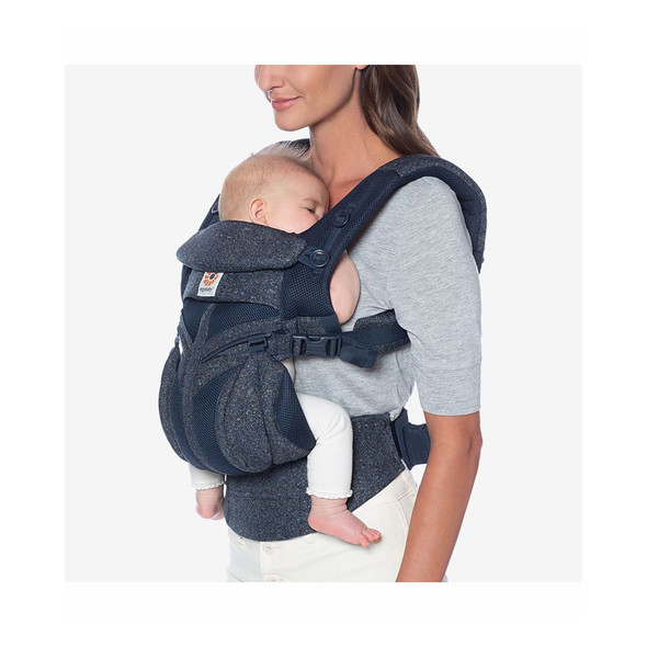 Ergobaby Omni 360 Cool Air Mesh Baby Carrier in Blue Tweed