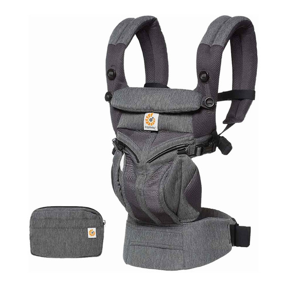 Ergobaby Omni 360 Cool Air Mesh Baby Carrier in Classic Weave