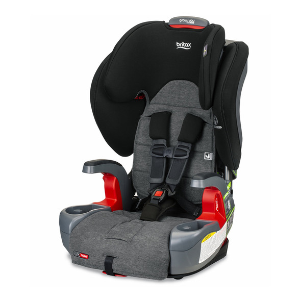 Britax Grow With You Clicktight Harness Booster Car Seat in StayClean GrayAvailable To Ship: 4/27/2020