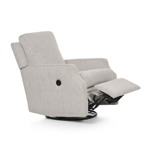 Oilo Harlow Recliner w/ Power & USB in Tweed Snow
