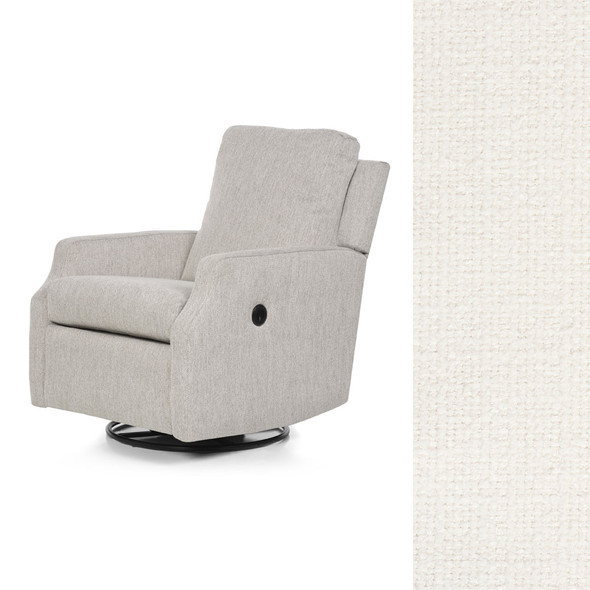 Oilo Harlow Glider w/ Power & USB in HP Ivory
