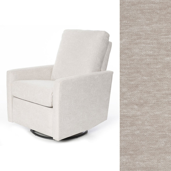 Oilo Drew Recliner in Velveteen Dove