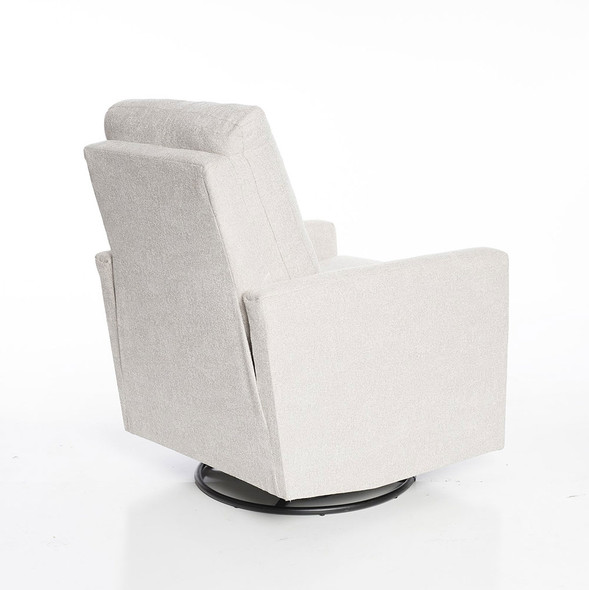 Oilo Drew Recliner in Woven White