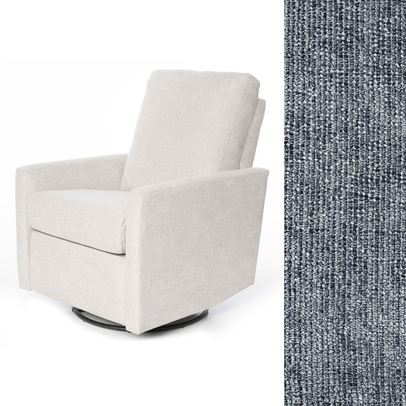 Oilo Drew Recliner in Gentle Slate