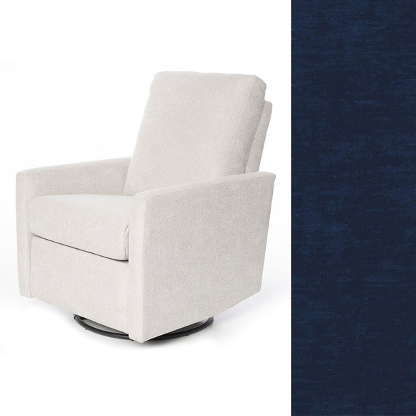 Oilo Drew Recliner in Velvet Midnight