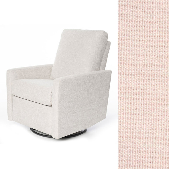 Oilo Drew Recliner in HP Oxford Blush