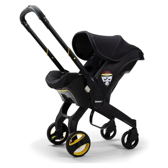 Doona + Infant Car Seat with Base in Midnight