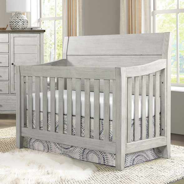 Westwood Timber Ridge Collection Convertible Crib in Weathered White and Sierra