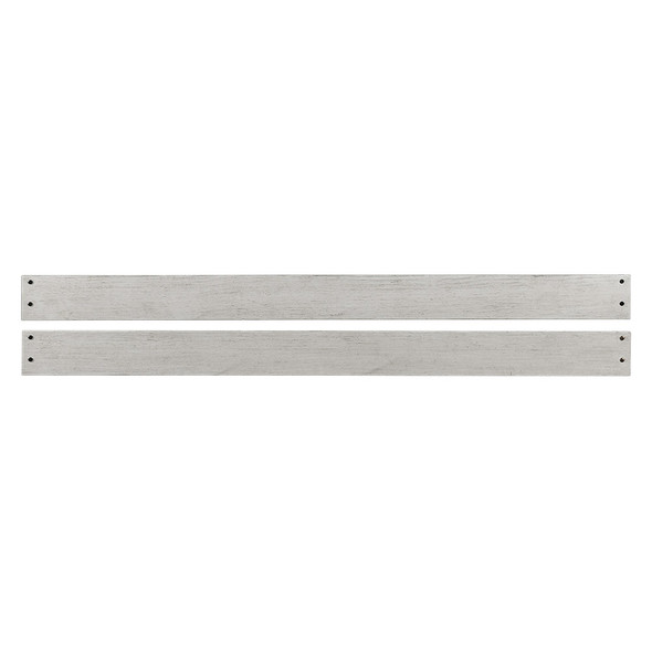 Westwood Timber Ridge Collection Full Size Bed Rails in Weathered White and Sierra