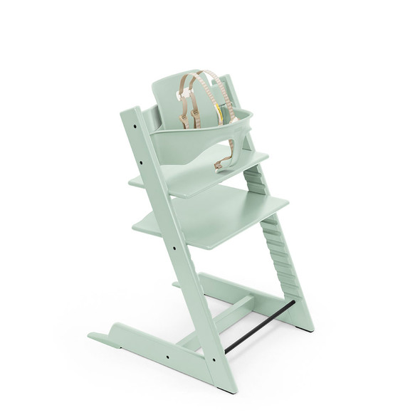 Stokke Tripp Trapp High Chair (incl. Chair, matching Baby Set) in Soft Mint