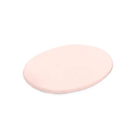 Stokke Sleepi Mini Fitted Sheet in Peachy Pink