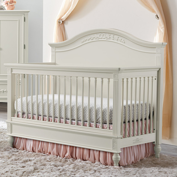 Stella Baby and Child Arya Convertible Crib in Parchment