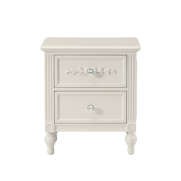 Stella Baby and Child Arya Nightstand in Parchment