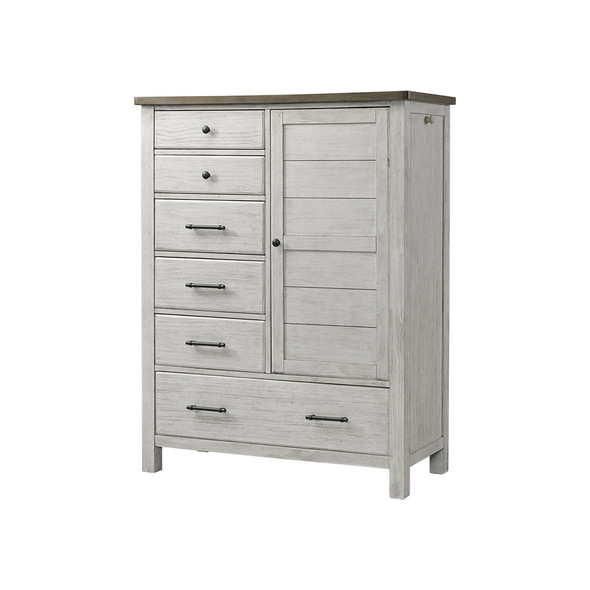 Westwood Timber Ridge Collection Chifferobe in Weathered White and Sierra