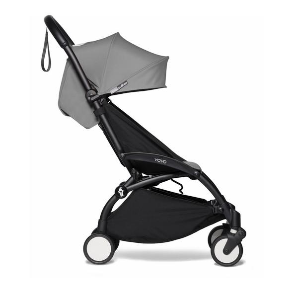 JetSetGo BABYZEN YOYO2 Complete Stroller - Black Frame + Grey