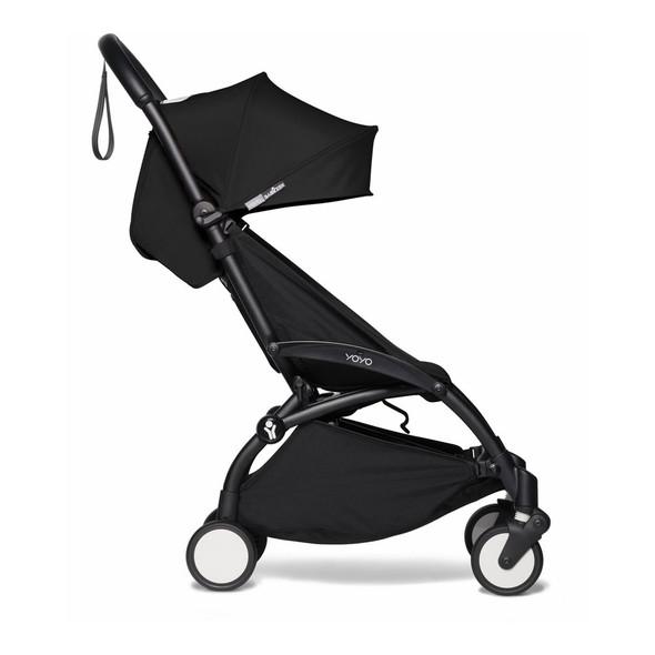JetSetGo BABYZEN YOYO2 Complete Stroller - Black Frame + Black