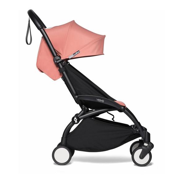 JetSetGo BABYZEN YOYO2 Complete Stroller - Black Frame + Ginger