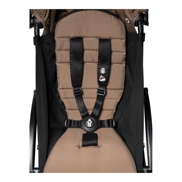 JetSetGo BABYZEN YOYO2 Complete Stroller - Black Frame + Toffee