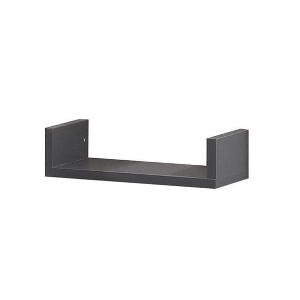 Natart Urban/Metro Shelf for Twin Bed in Charcoal
