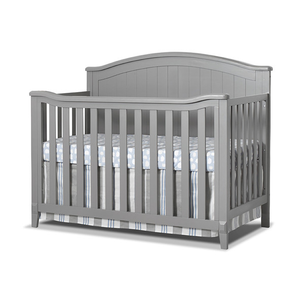 Sorelle Fairview 4-in-1 Crib in Gray