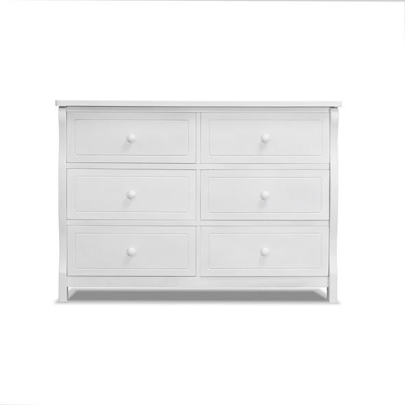 Sorelle Princeton Elite Double Dresser in White