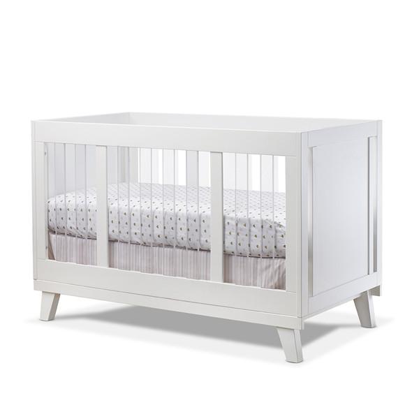 Sorelle Uptown Acrylic Crib in White