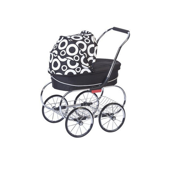 Valco Princess Doll Stroller in Black