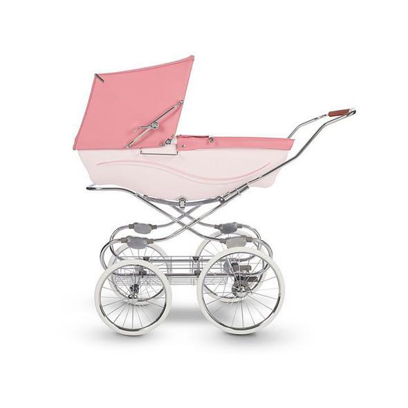 Silver Cross Kensington Complete Stroller in Pink