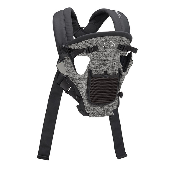 Kolcraft Cloud Comfy Carry Baby Carrier in Space Grey