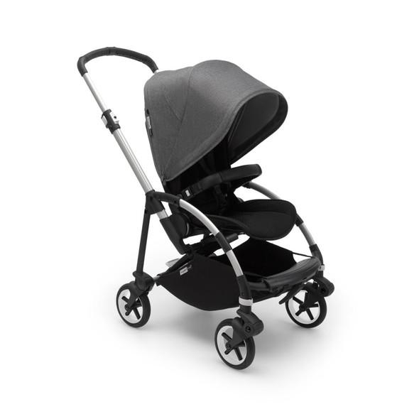 Bugaboo Bee6 Complete Stroller in Alu/Grey-Grey Melange