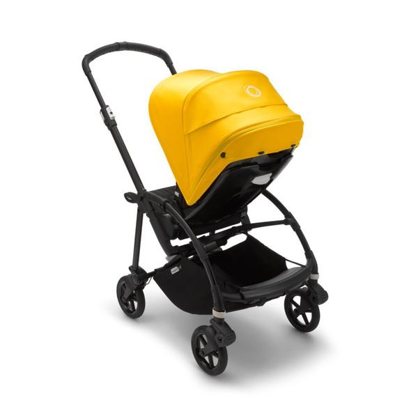 Bugaboo Bee6 Complete Stroller in Black/Black-Lemon Yellow