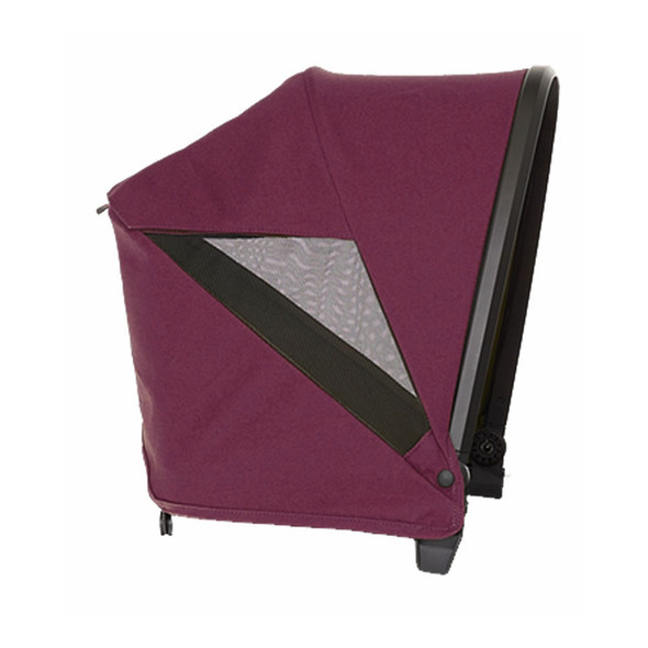 Veer Custom Retractable Canopy in Pink Agate