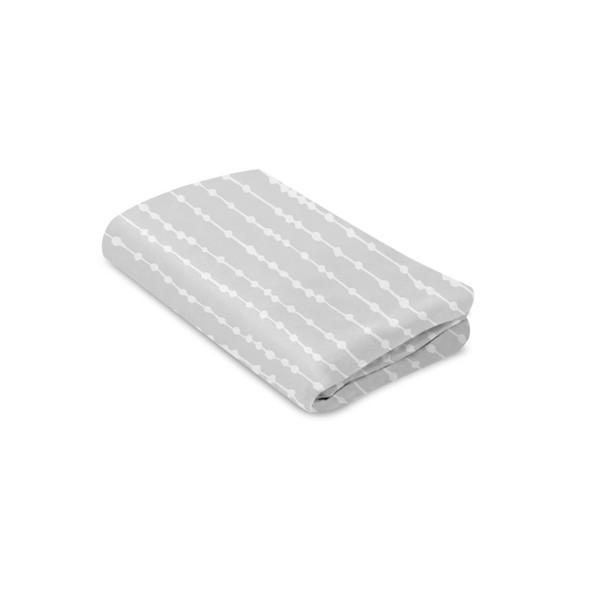 4Moms Breeze Waterproof Bassinet Sheets - Grey Beads